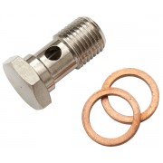 Drilled screw coupling 1/4""